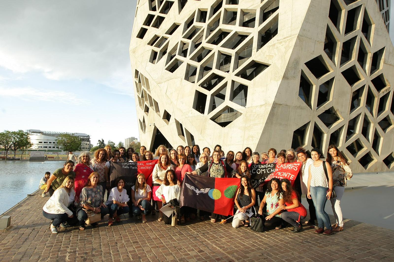 Mujeres rurales, inmigrantes y de pueblos originarios se suman a la red Lideresas