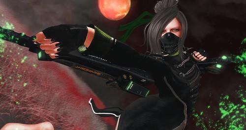 045. Cyber Kunoichi !!