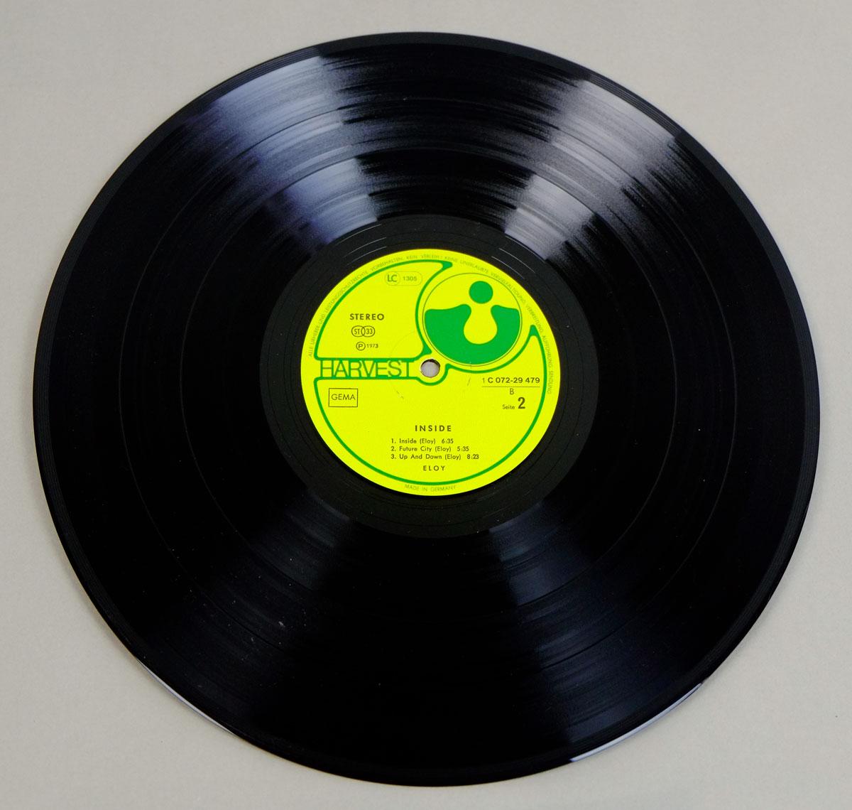 "ELOY INSIDE KRAUTROCK FOC GATEFOLD 12"" LP VINYL"