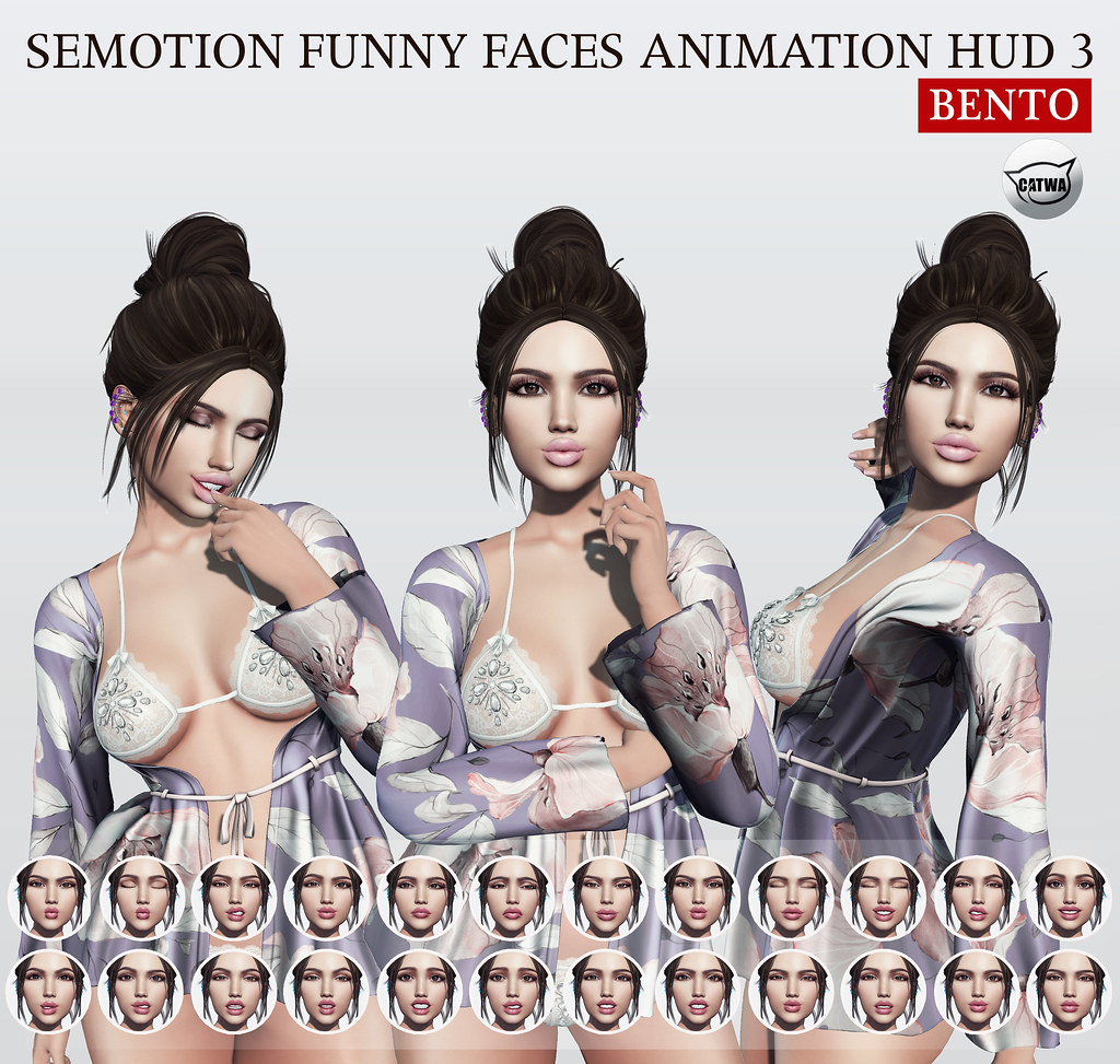 SEmotion Funny Faces Animation HUD 3 @ Limit8