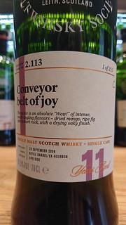 SMWS 2.113 - Conveyor belt of joy