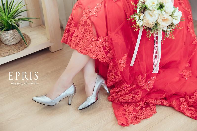 銀色 租鞋 婚宴鞋