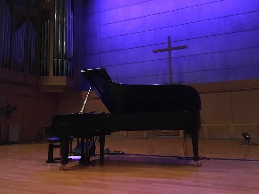 ピアノ@グローリアチャペル キリスト品川教会