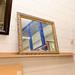Large framed mirror E65