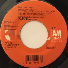 CECE PENISTON:WE GOT A LOVE THANG(LABEL SIDE-B)