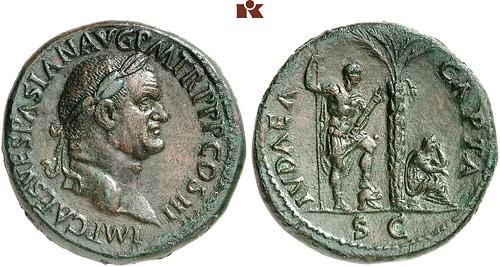 Vespasian Sestertius Judea Capta