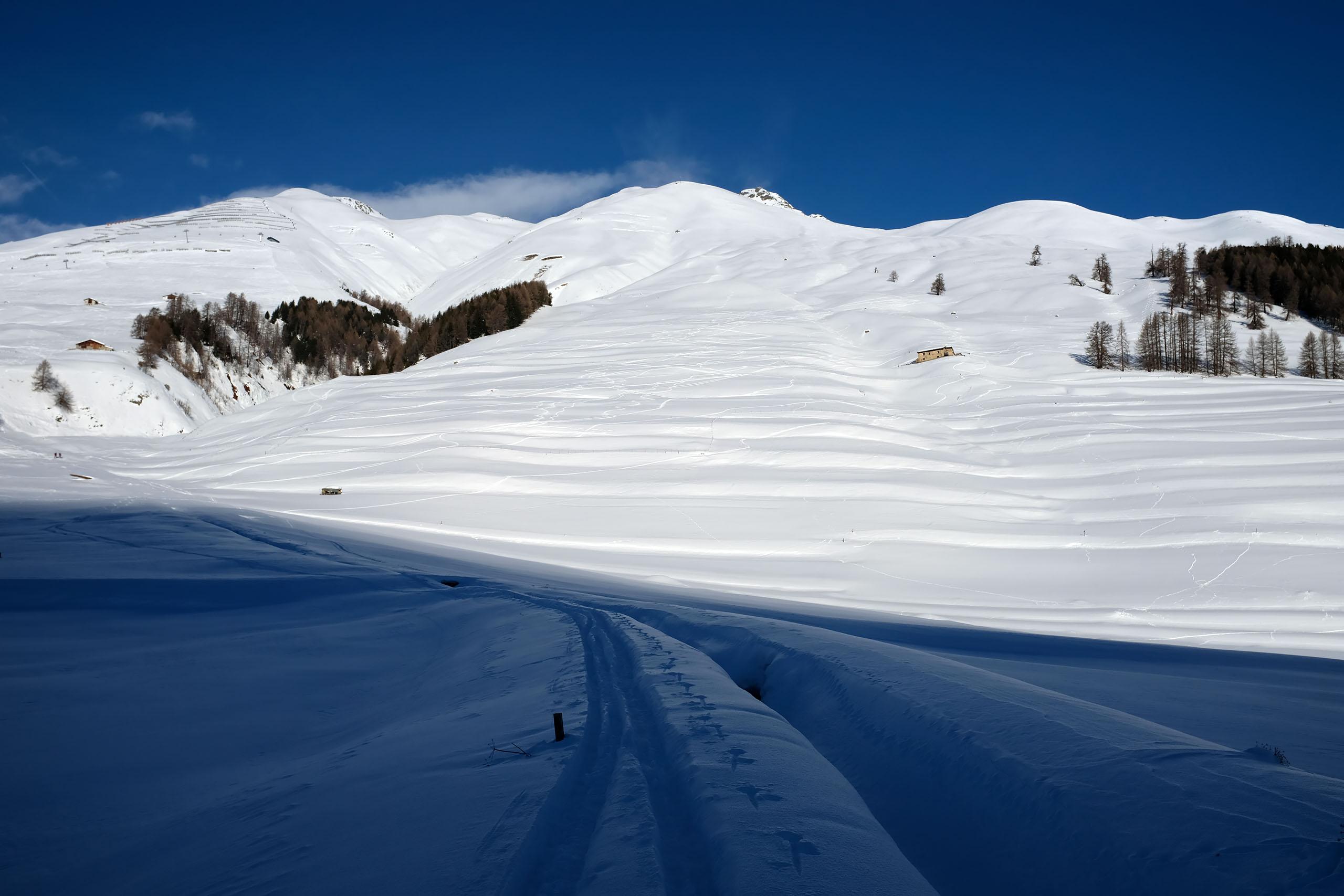Scialpinismo al Piz Griatschouls: la partenza da Zuoz