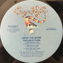 TROUBLE FUNK:DROP THE BOMB(LABEL SIDE-A)