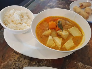 Vegan Curry at Cafe O-Mai