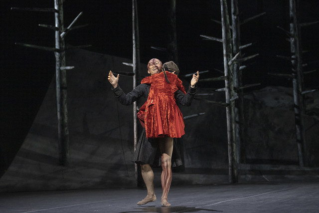 Wei Wang as The Creature in Frankenstein, The Royal Ballet © 2019 ROH. Photograph by Andrej Uspenski