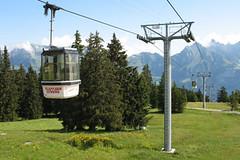 Lanovky ve švýcarském Flumserbergu (1. díl)