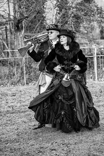 Steampunks - Black & White