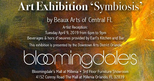 """Symbiosis"" Fine Art Exhibit at Bloomingdale's"
