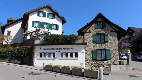 In der Gemeinde Aeugst (696 m.ü.M