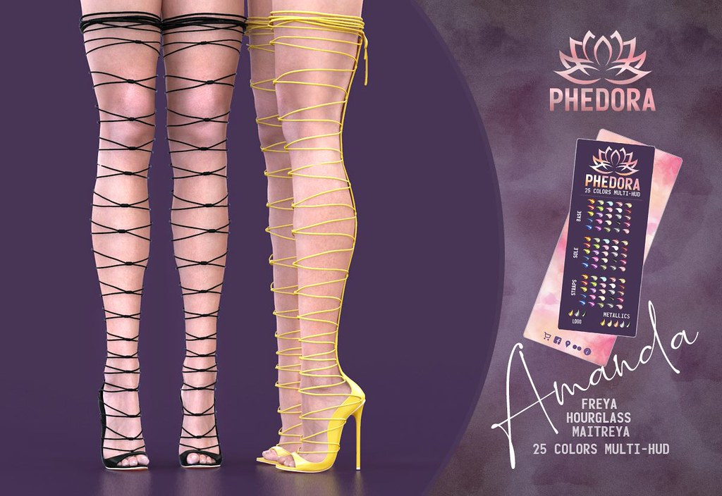 "Phedora. for The LEVEL event ~ ""Amanda"" gladiator heels♥"