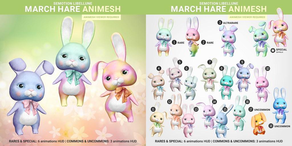 SEmotion x Libellune March Hare Animesh - TeleportHub.com Live!