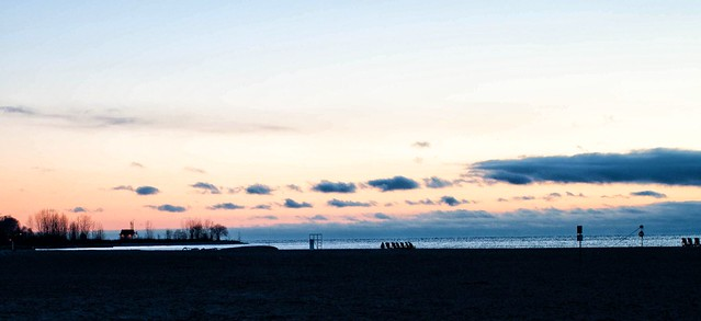 Cold Beach Morning