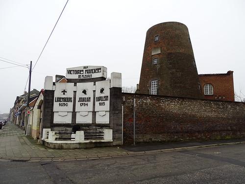 Le moulin Naveau à Fleurus