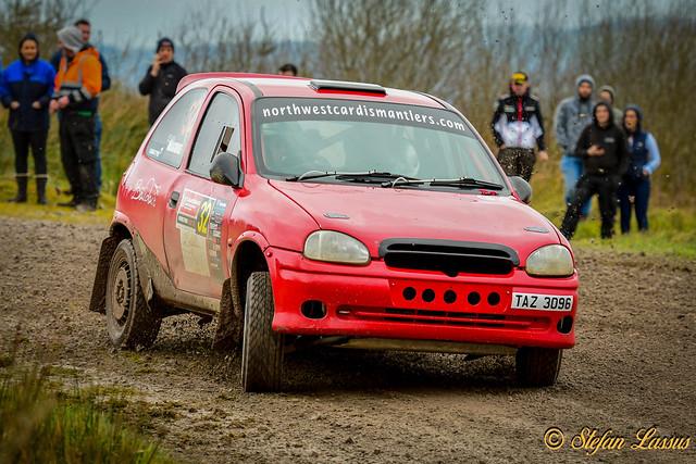 32 Ruairi Maguire & Grace O'Brien Vauxhall Corsa