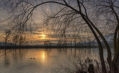 *sunset at the river II*
