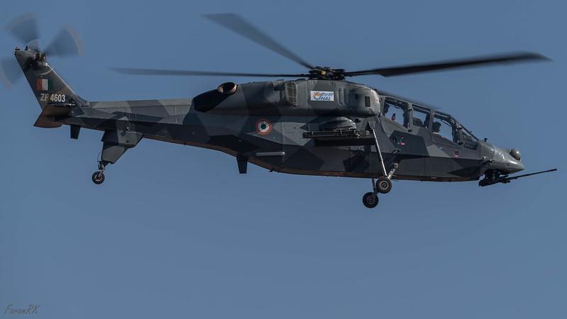 IAF HAL LCH (4603)