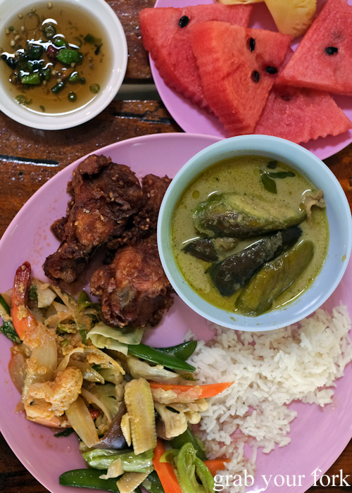 Buffet lunch on our tour of the Surin Islands by SeaStar in Khao Lak, Thailand