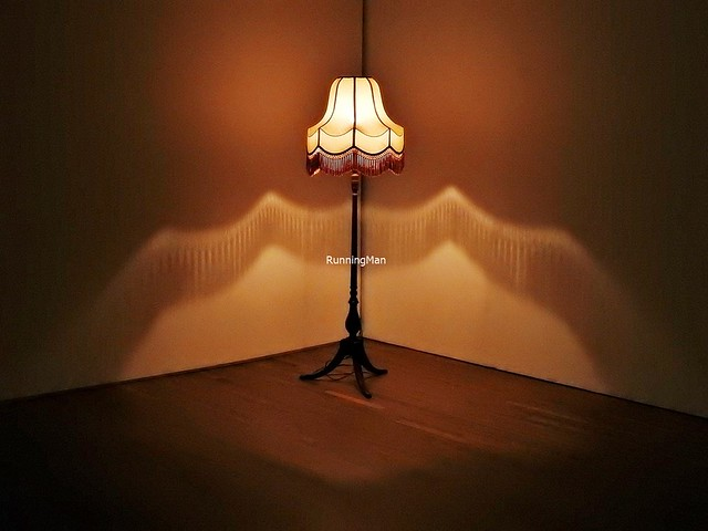 Work No. 312 A Lamp Going On And Off By Martin Creed