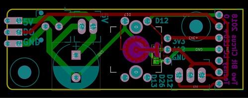 Teensy breakout board layout