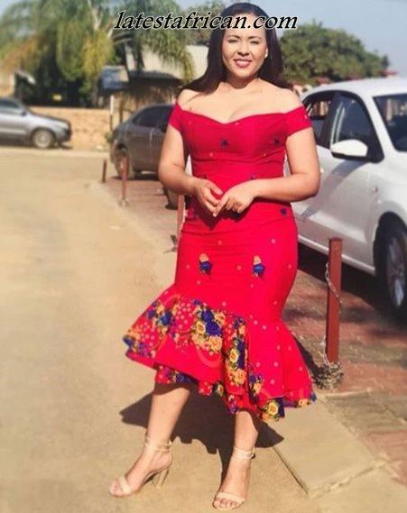 Amazing Shweshwe Dresses 2019 For Woman