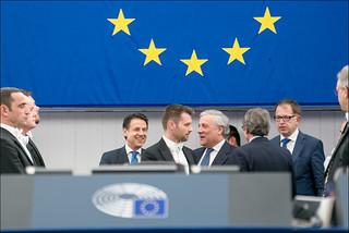 Giuseppe Conte @ the EP