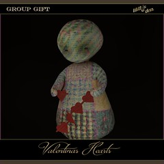 Lilith's Den - Group Gift Feb' 2019 - Valentinas Hearts