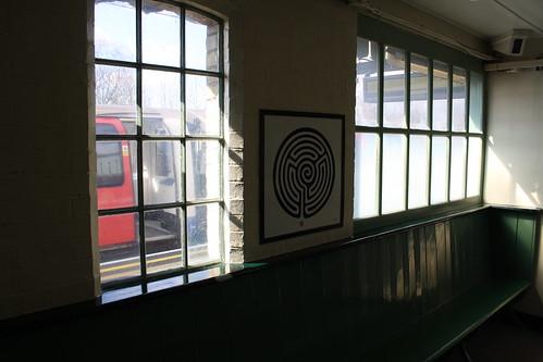 London Underground Labyrinth 213 Mill Hill East