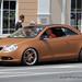 Brown VW Eos