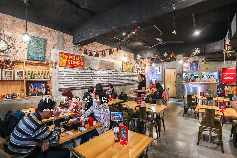 A.K.12美式小館,台北美式餐廳,台北美食,台北餐廳,台灣美食,寵物友善餐廳,美式餐廳,西門町美食,西門町餐廳 @陳小可的吃喝玩樂