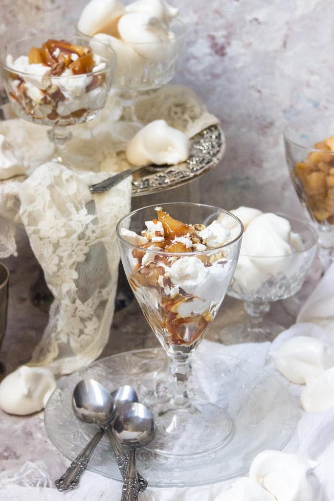 Salted Caramel Apple Eton Mess