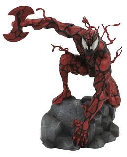 暴亂姿態再現!! Diamond Select Toys Marvel Comics【屠殺】Carnage 全身雕像作品
