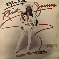RICK JAMES:FIRE IT UP(JACKET A)