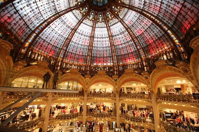 Galeries Lafayette - Paris (01/2109), Canon EOS 750D, Sigma 10-20mm f/4-5.6
