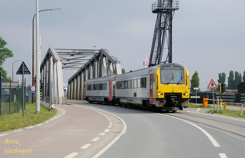 2009 | NMBS 4129 te Antwerpen Linkeroever