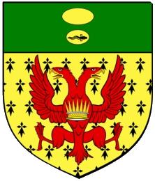 Coat of arms of Sir Stamford Raffles
