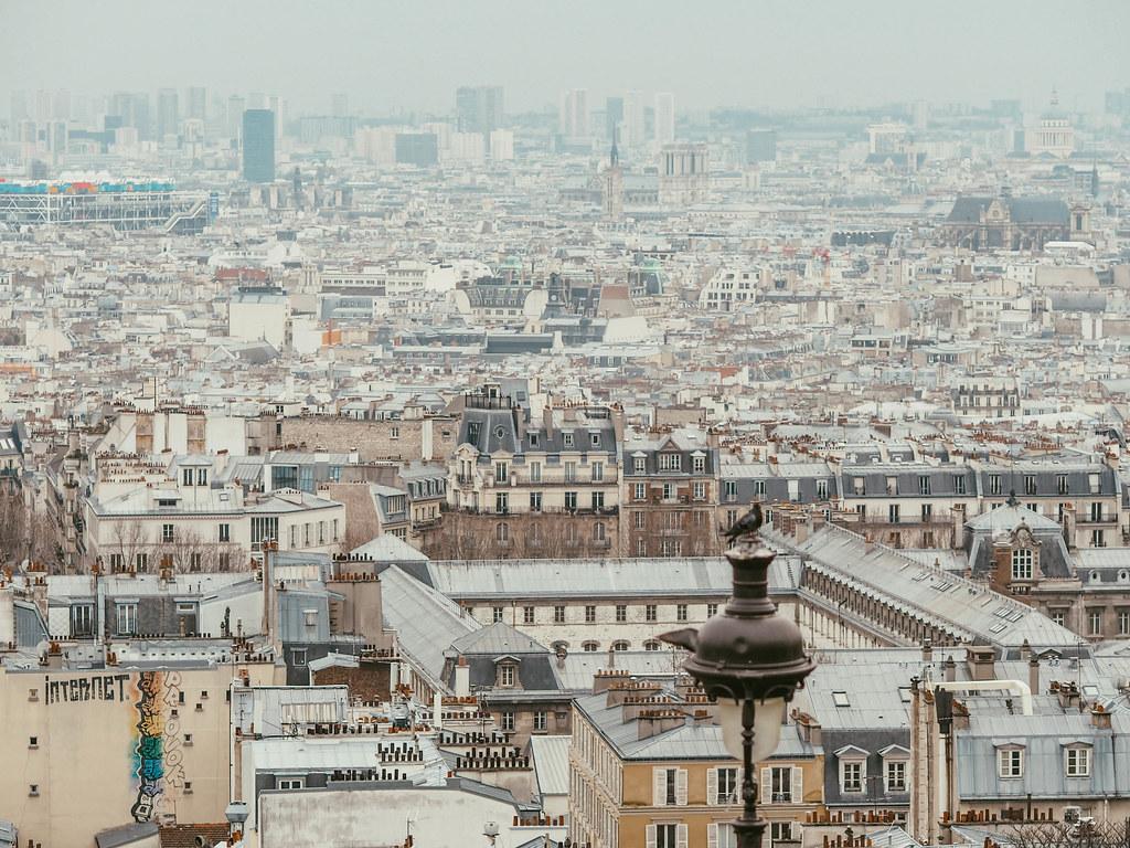 sacre coeur pariisi maisemat