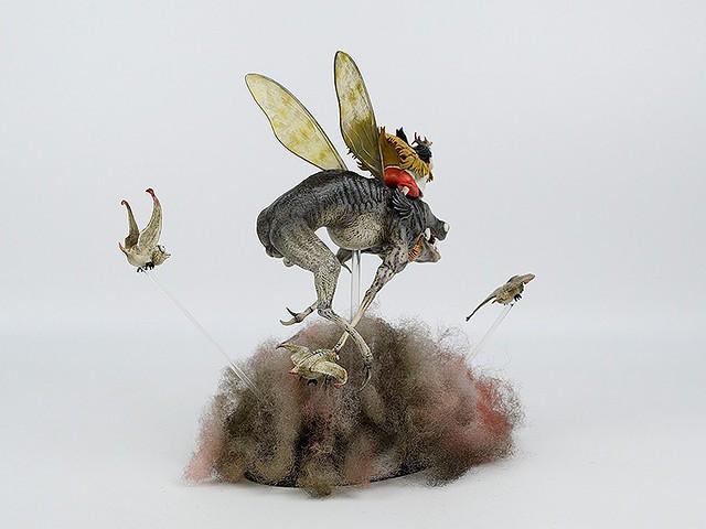 Threezero 繪師早稻 「小蟲」精彩上色完成作品!早稻 - 小虫(ツァオダオ - リトル・バグズ)