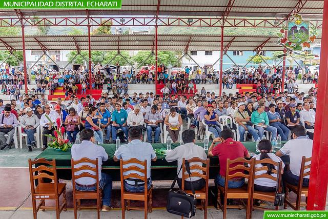 Población echaratina priorizó sus proyectos en el quinto taller descentralizado del Presupuesto Participativo