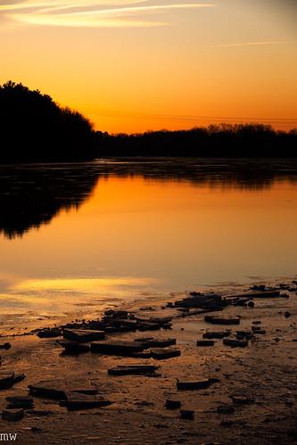 merrimack river winter sunrise 6d massachusetts new england