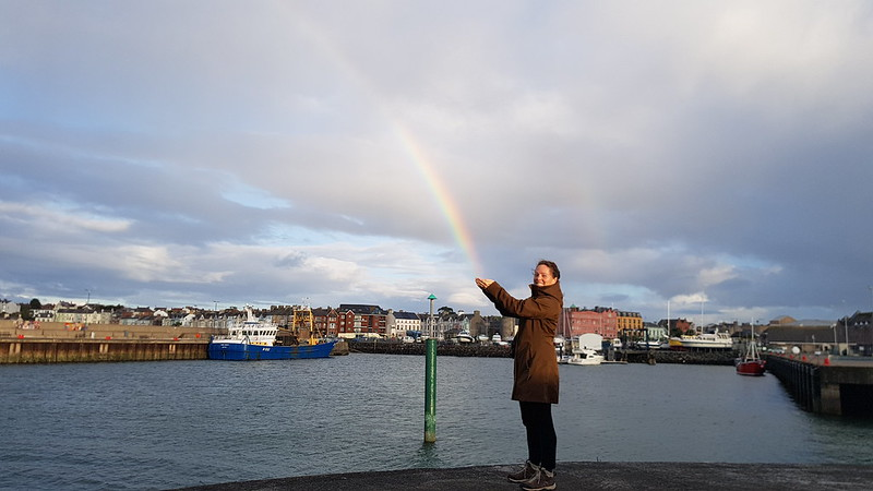 Rainbow catching at Bangor
