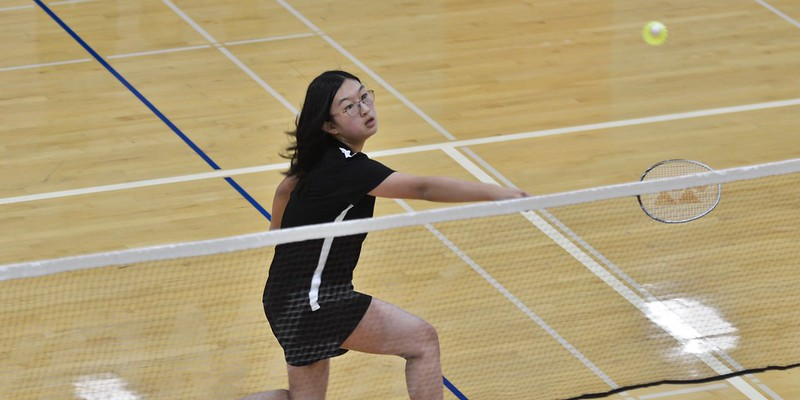 Varsity Badminton vs. International, March 21, 2019
