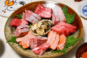 Sashimi roher Fisch