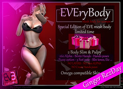 EVE NEW affiche EVEryBODY-v9 Ginger REZDAY