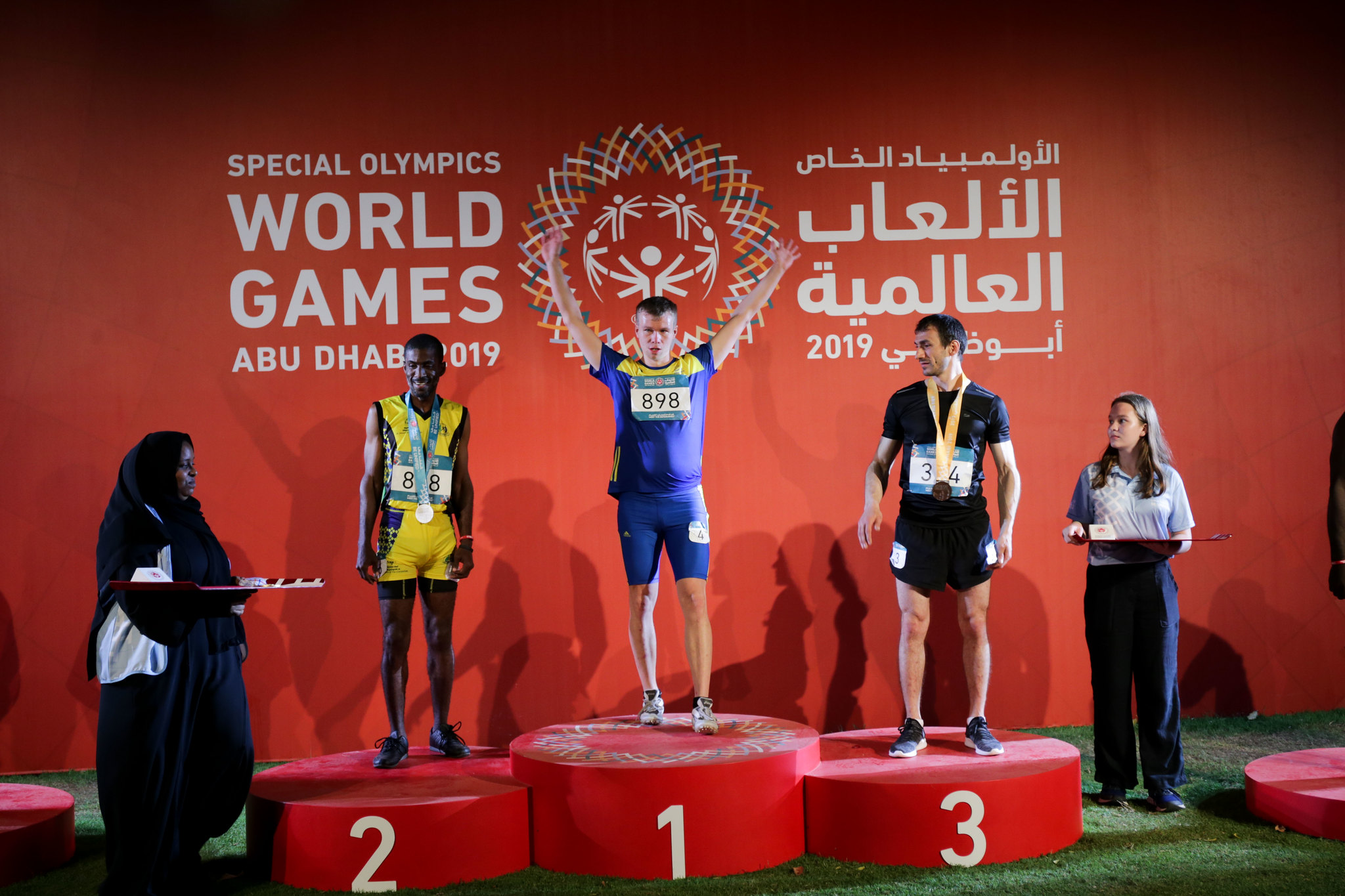 Friidrott, , Special Olympics World Summer Games Abu Dhabi 2019