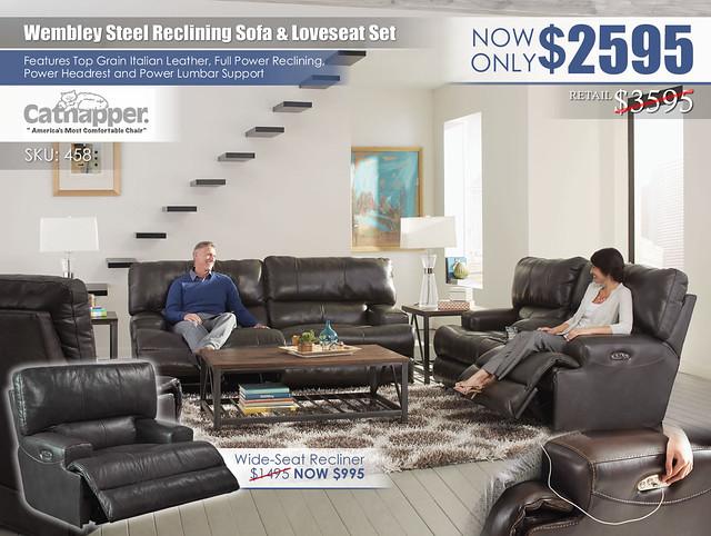Wembley Steel Reclining Living Room Set_458